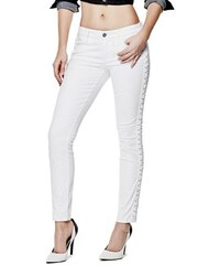 G by Guess Rifle Cyan Lace-Up Skinny Jeans