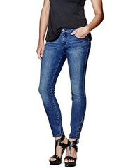 G by Guess Rifle Fianna Lace-Up Skinny Jeans