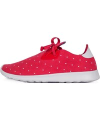 Sneakers - tenisky Native Apollo Moc Embroidered Torch Red/ Shell White/ Polka Dot