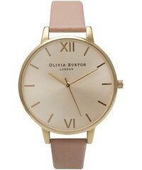Montre Olivia Burton Big Dial - Dusty Pink and Gold