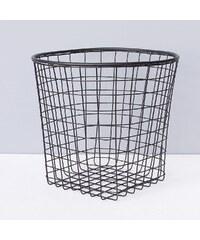 ComingB Kovový košík Black Basket