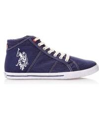US Polo ASSN High Sneakers - marineblau