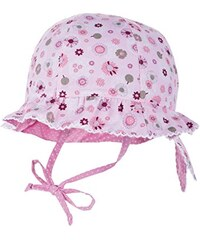 maximo Mädchen Mütze Hut mit Krempe, Reversible, Bindeband
