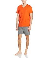 HOM Herren Zweiteiliger Schlafanzug Paul Short Sleepwear