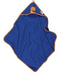 Playshoes Jungen Bademantel Frottee Kapuzentuch DIE MAUS, ca. 75x75cm, Gr. One size, Blau (marine 11)
