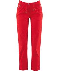 bpc bonprix collection Pantalon poches zippées 7/8 rouge femme - bonprix