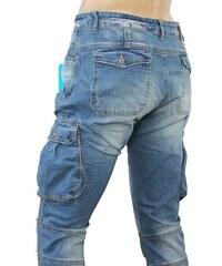 M. SARA kalhoty pánské KA8916 kapsáče jeans