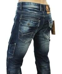 M. SARA kalhoty pánské KA6820 kapsáče jeans
