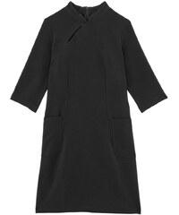 Les Couleurs du Noir LUTECE - Robe housse à poches - noir