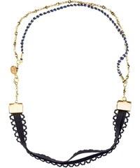 Objets Obscurs Bijoux Gloria - Headband - bleu marine