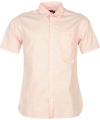 Košile s krátkým rukávem Pierre Cardin Cardin Poplin pán. růžová