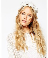 ASOS WEDDING - Haarband mit Lilien - Weiß