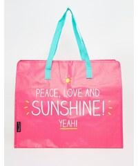 Happy Jackson - Peace - Shopper-Tasche - Mehrfarbig