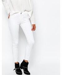 Vila - Jean court skinny - Blanc