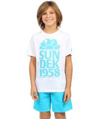 SUNDEK t-shirt with logo