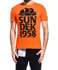 SUNDEK t-shirt with logo
