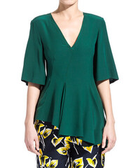 MARNI flared blouse color green