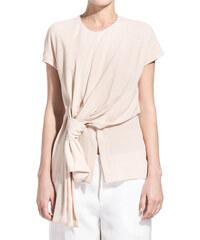 MARNI powder pink knotted blouse