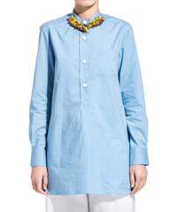MARNI long blouse with decorations