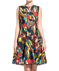 MARNI letric print scoop neck dress