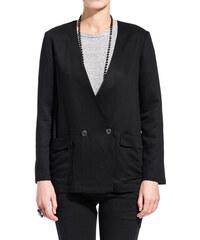 POMANDERE double-breasted blazer color black