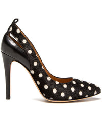 IRO spotted pumps color black