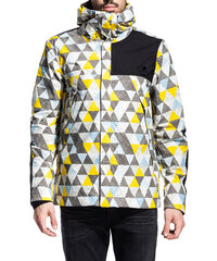 the north face x slam jam print mountain hooded jacket