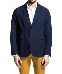 CAMO navy blue sylon jacket from the jump collection