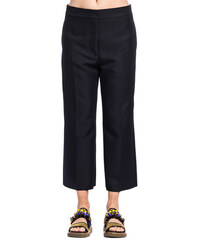 MARNI loose pants color blue