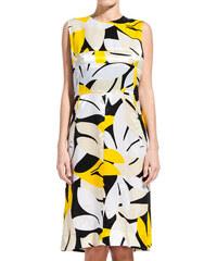MARNI shadow print long dress