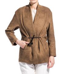 POMANDERE kimono jacket color brown