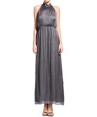 ATTIC AND BARN gray electra long dress
