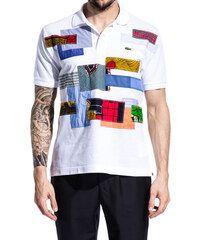 JUNYA WATANABE polo patchwork colore bianco