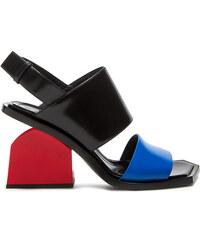 MARNI flat sandals color white/orange