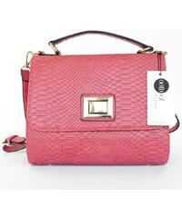 Jiné Dámská kabelka hadího vzoru Pink