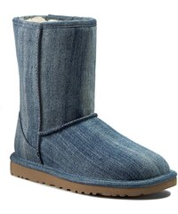 Boty UGG AUSTRALIA - W Classic Short Washed Denim 1013100 W/Navy