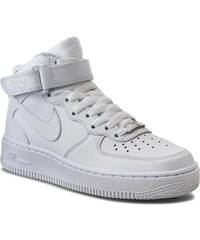 Boty NIKE - Air Force 1 Mid '07 LE 366731 100 White/White