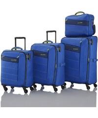 Travelite Kite 4w S,M,L Royal Blue No. 3 – sada 3 kufrů + BB