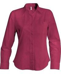 Dámská košile Jessica - Vínová XS