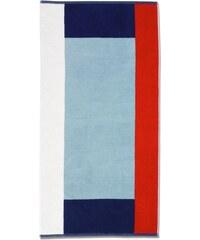 Osuška ATLANTIK 70x140 cm, červená / modrá KELA KL-20493