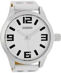 Oozoo Herrenuhr XXL Weiß C1000