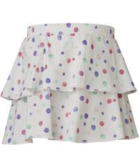LEGO wear Dívčí puntíkovaná sukně Deena 402 - bílá