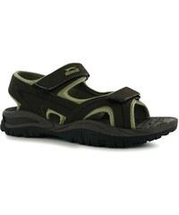 Trekové sandály Slazenger Wave pán. hnědá