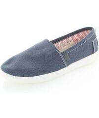 Dude Shoes Dámské tmavě-modré mokasíny Capri Stretch