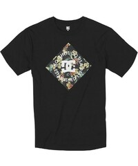 DC Shoes T-shirt Tee Shirt MC Hibby Hobbie Pirate Black -