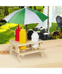 Lesara Holz-Gewürzhalter mit Schirm