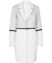 Manteau bi-matière Marcell von Berlin for bonprix gris manches longues femme - bonprix