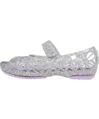 Crocs ISABELLA Peeptoe Ballerina silver/iris