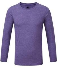 Chlapecké triko s dlouhými rukávy - Fialová 116 (5-6)