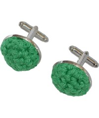 Acrochet'Moi Spontane - Boutons de manchettes - vert